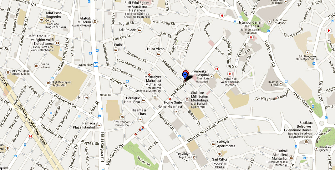 Studybritish-Google-Map